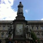 Piazza della Scala - Leonardo #ZWtour